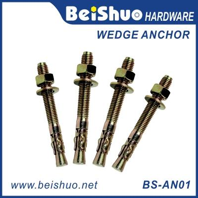 BS-AN01-F M12 Carbon steel Zinc plated provides strong  wedge anchor