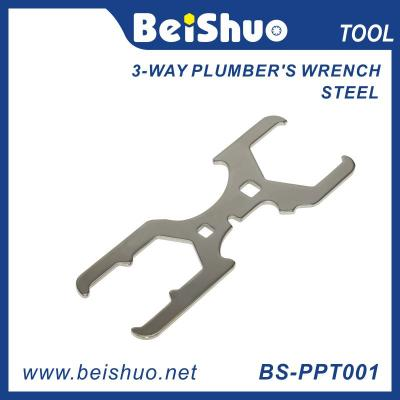 BS-PPT001 3-way plumber's wrench