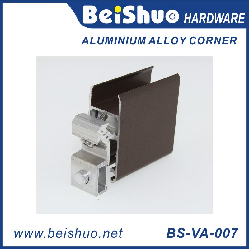 BS-VA-007 Furniture&Door Fastener Aluminum Alloy Corner Bracket