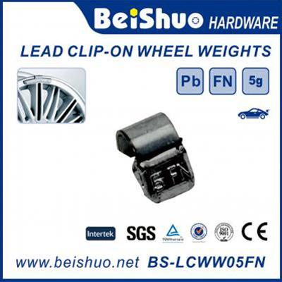 BS-LCWW05FN Lead Clip on Wheel Weight Car Wheel Weight Balance