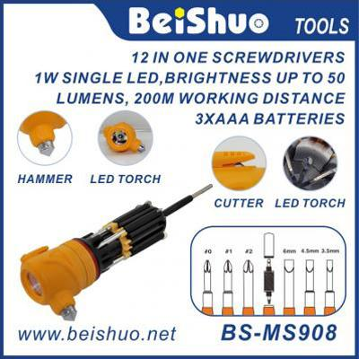 BS-MS908 8 IN 1 Multi Function Screwdriver
