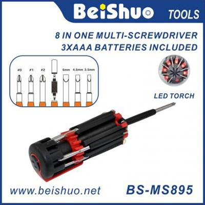 BS-MS895 8 IN 1 Multi Function Screwdriver