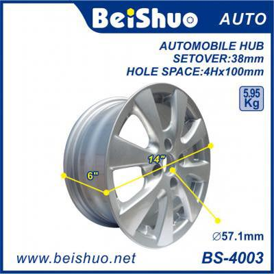 BS-4003 Made in China And New Style Alloy Aluminum Cars Wheel Rim