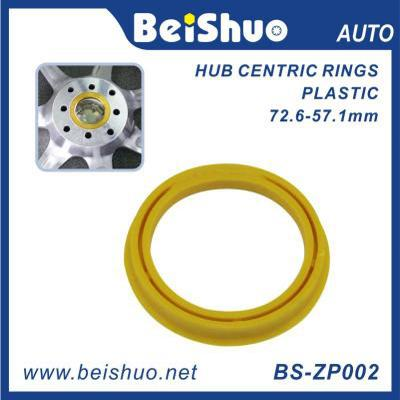 BS-ZP002 ABS Plastic Wheel Rim Hub Centric Rings with Various Size and Color