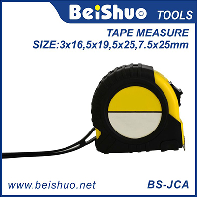 BS-JCA 3M 5M 7.5M Tape Ruler Metric and Inches Measuring Tape with Auto Lock