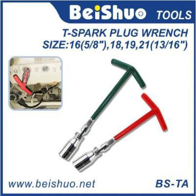 BS-TA Universal Tool Spark Plug T Shape Socket Wrench