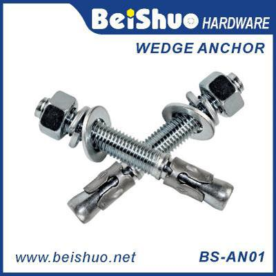 BS-AN01-C M24 Carbon steel Zinc plated provides strong  ground anchor