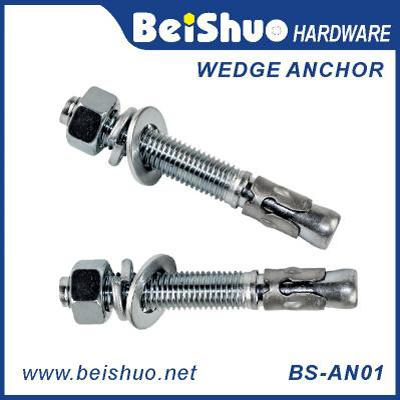 BS-AN01-C M20 Customize Carbon steel Z/P,HDG ground anchor