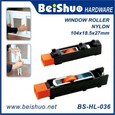 BS-HL-036 Easy Install Sliding Window Door Roller Assembly,  with Nylon Wheels
