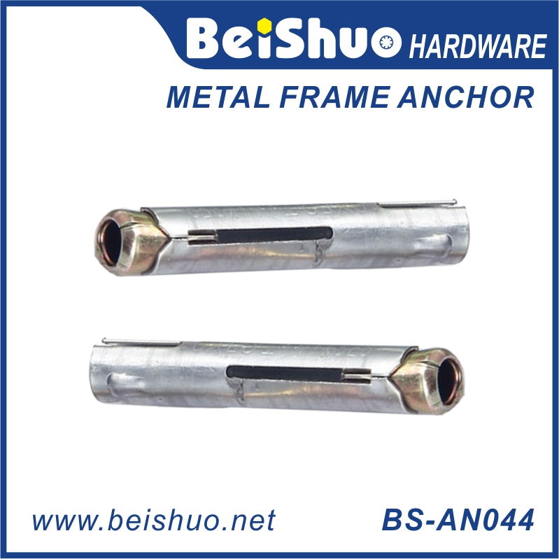 BS-AN044 M8 carbon steel metal frame anchor