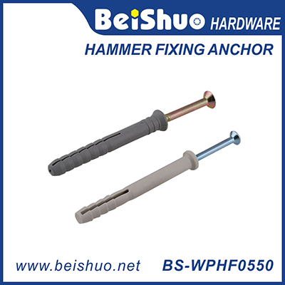 BS-WPHF0550 M5*50 nylon hammer fixing anchor