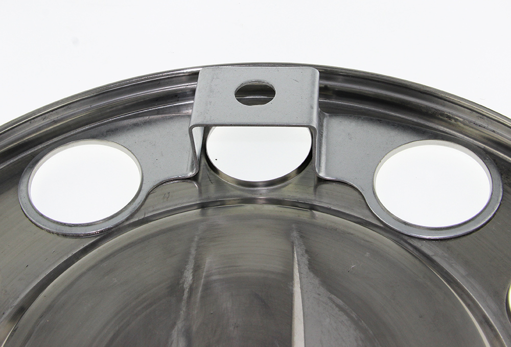 """22.5"""" Truck Stainless Steel Front Axle Cover"""