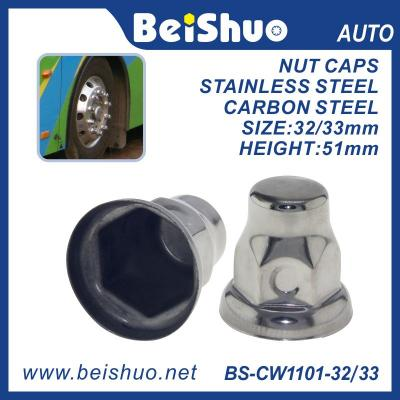 High quality Truck Hub Wheel Hex Bolt Caps Nut Covers