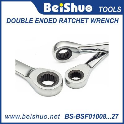 双头棘轮扳手 double ended fatchet wrench