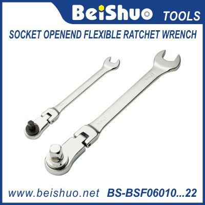 socket openend flexible ratchet wrench
