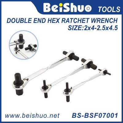 double end hex ratchet wrench